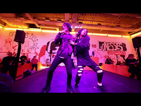 LES TWINS AT SFMOMA Birthday Bash | Shot by Sandy Lee