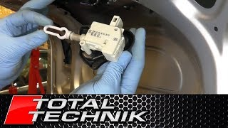 How to Remove Boot/Trunk Lock Solenoid - Audi A4 S4 RS4 - B6 B7 - 2001-2008 - TOTAL TECHNIK