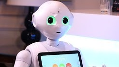 First date with humanoid robot Pepper