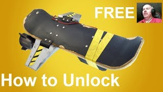 How to unlock the Hoverboard (Fortnite Save the World)
