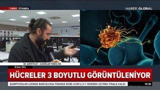 Türk Doktorlar Kanser Hücrelerini 3 Boyutlu Görüntüleyen Cihaz Üretti
