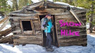 Snow Hike Virginia Lakes | Eastern Sierras