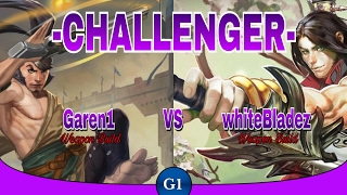 VAINGLORY: Ringo Weapon VS. Blackfeather Weapon   Thanks For 500 SUBS!   Challenger Ep1