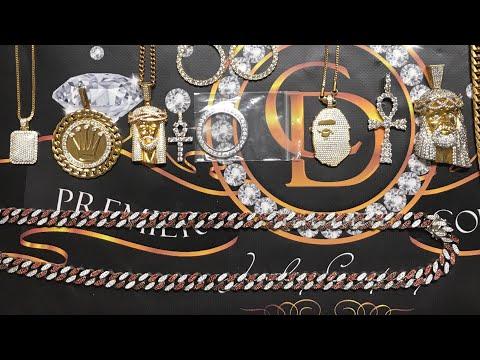 CUSTOM JEWELRY CLEARANCE: Lab Simulated,VVS,AAA CZ, .925 Cuban link,Rollie Pendant,Jesus Piece,(SALE