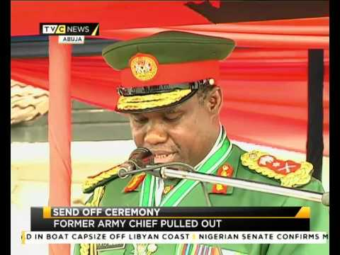 MILITARY PULLS OUT FORMER ARMY CHIEF | TVC NIGERIA