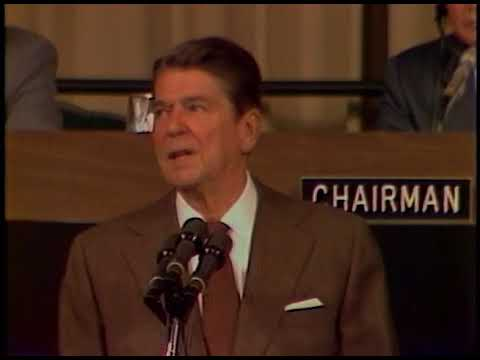 President Reagan's Remarks to World Bank International Fund