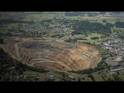 Martha Mine In Waihi New Zealand