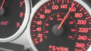 STI 2006 GT3582R. Probando el mapeo nuevo a low boost 18 psi.