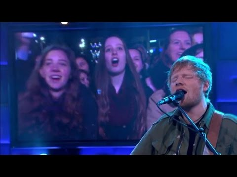 Ed Sheeran - Castle On The Hill - RTL LATE NIGHT