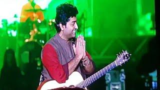 arijit-singh-talking-to-fans-in-bengali-eco-park-kolkata-gima-mtv-india-tour-2017