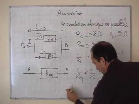 cours 1s physique ch9 association de r sistance en parall le youtube rh youtube com