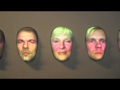 3D Faces. Deutsches museum. Munich