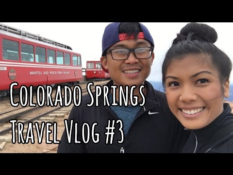 COG RAILWAY TO PIKES PEAK | Colorado Springs, CO Travel Vlog