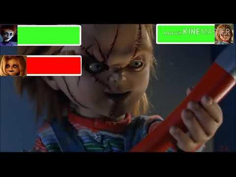 Seed Of Chucky Final Battle With Healthbars