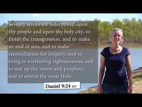 Daniel 9:24 KJV - 70 weeks are determined - Musical Memory Verse