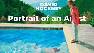 DAVID HOCKNEY: Portrait of an Artist (Pool with Two Figures)
