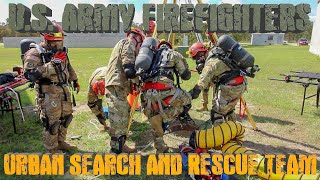 #army #firefighter #fitness U.S. ARMY FIREFIGHTER URBAN SEARCH & RESCUE TEAM!!!! A Day In Life
