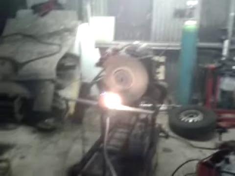 VM turbo diesel engine test