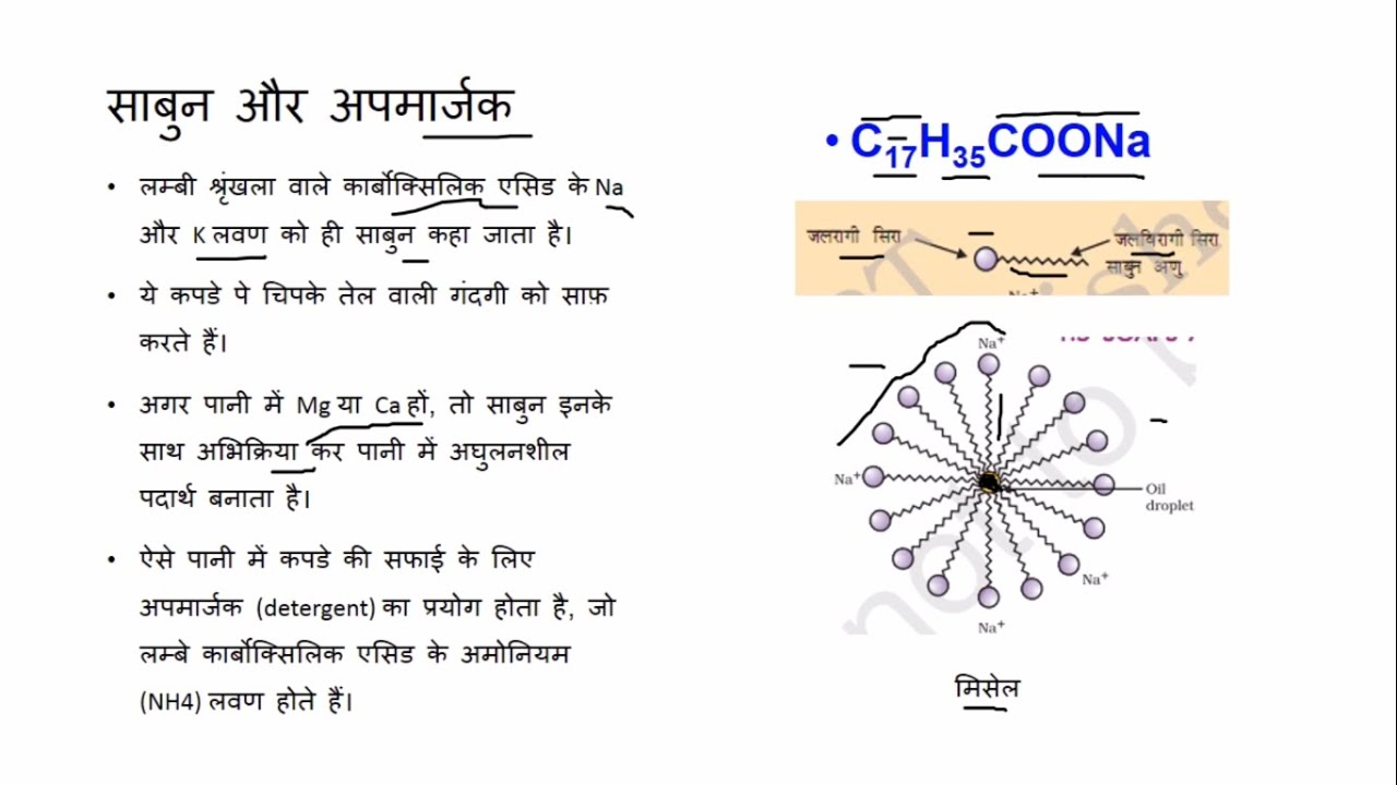 कार्बन और उसके यौगिक (Carbon and its Compounds) - कक्षा 10 विज्ञान (Class  10 Science) - Hindi
