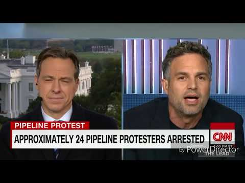 CNN can't stop Mark Ruffalo from calling out MILITARIZED ATTACK!  IT'S ON!