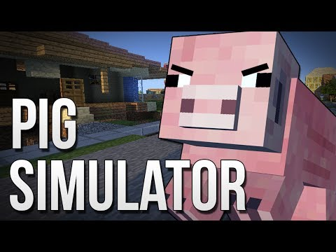 PIG SIMULATOR : Goat Simulator in Minecraft!