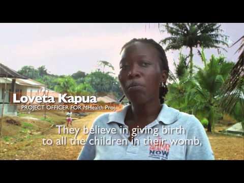 Maternal health in Sierra Leone   World Vision AIM