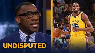 Shannon Sharpe reacts to Kevin Durant