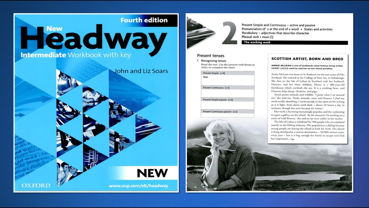 New Headway Intermediate Students Book the Third Edition