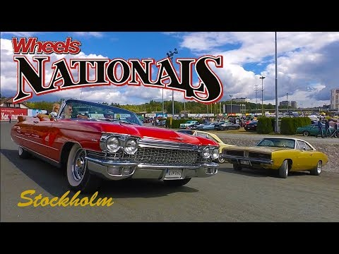 Classic American Car Parade | Wheels Nationals Stockholm 2017 | Cruising the Course