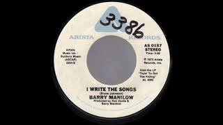 1976_015 - Barry Manilow - I Write The Songs - (45)