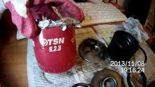 Масляный фильтр TSN 9.2.3 в разобранном виде