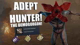 ADEPT DEMOGORGON! | Dead By Daylight The Demogorgan Achievement