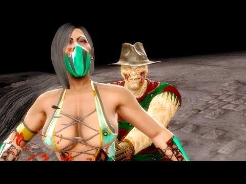 Mortal Kombat 9 - All Fatalities & X-Rays on Jade Vivid Costume Mod 4K Ultra HD Gameplay Mods
