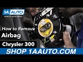 How to Remove Airbag 05-10 Chrysler 300