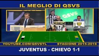 QSVS -  I GOL DI JUVENTUS - CHIEVO 1-1 - TELELOMBARDIA / TOP CALCIO 24