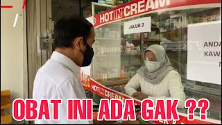 Download Yang Jaga Apotik Panik  !!!  Presiden Jokowi Ke Apotik Sendiri Cek Obat