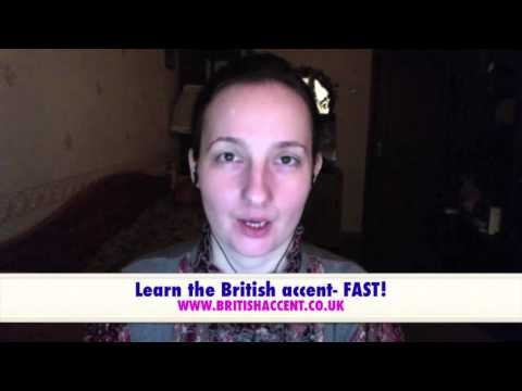 British English accent training lessons - YouTube