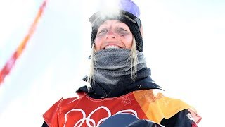 Laurie Blouin Wins Silver in Women's Snowboard Slopestyle   Pyeongchang 2018