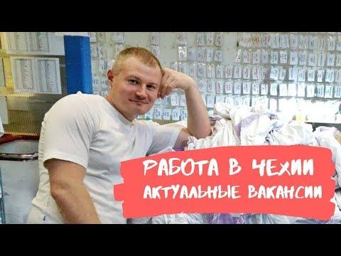 РАБОТА В ЧЕХИИ. АКТУАЛЬНЫЕ ВАКАНСИИ.