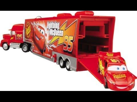 Disney pixar cars truck haulers autos de juguetes para ni os youtube - Juguetes de cars disney ...
