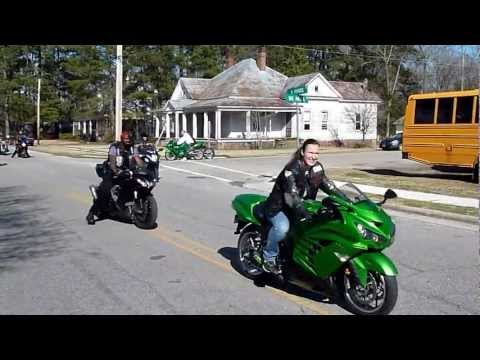 Vonta Leach Parade & Ride 24FEB2013. Part 1