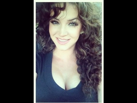 Super Curly Hair Tutorial ♥ - YouTube