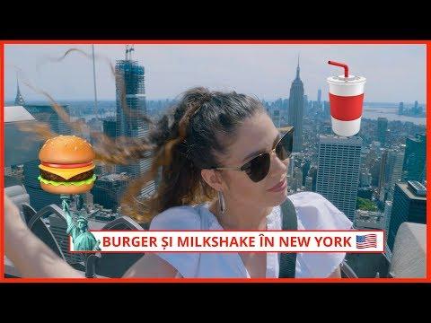 Burger și Milkshake în New York de neratat! (30 de min la coadă) | Daily Vlog