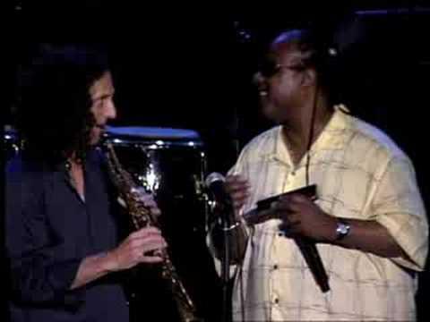 Kenny G And Stevie Wonder Youtube