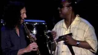 Kenny G And Stevie Wonder