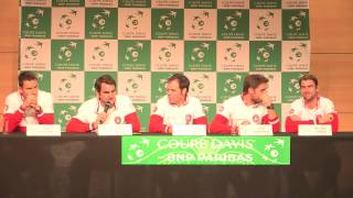 Draw Davis Cup Final France v Switzerland