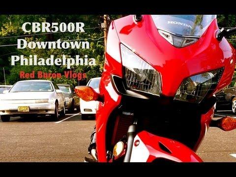 Philadelphia tour on CBR500R