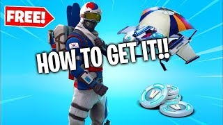 HOW TO GET THE ALPINE ACE IN FORTNITE!! *GLITCH*
