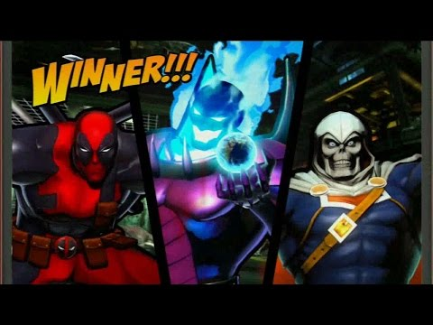 Requested Ultimate Marvel vs Capcom 3: Dread Masters Deadpool, Dormammu, Taskmaster