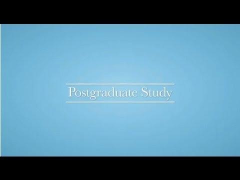 Postgraduate study at the University of Birmingham